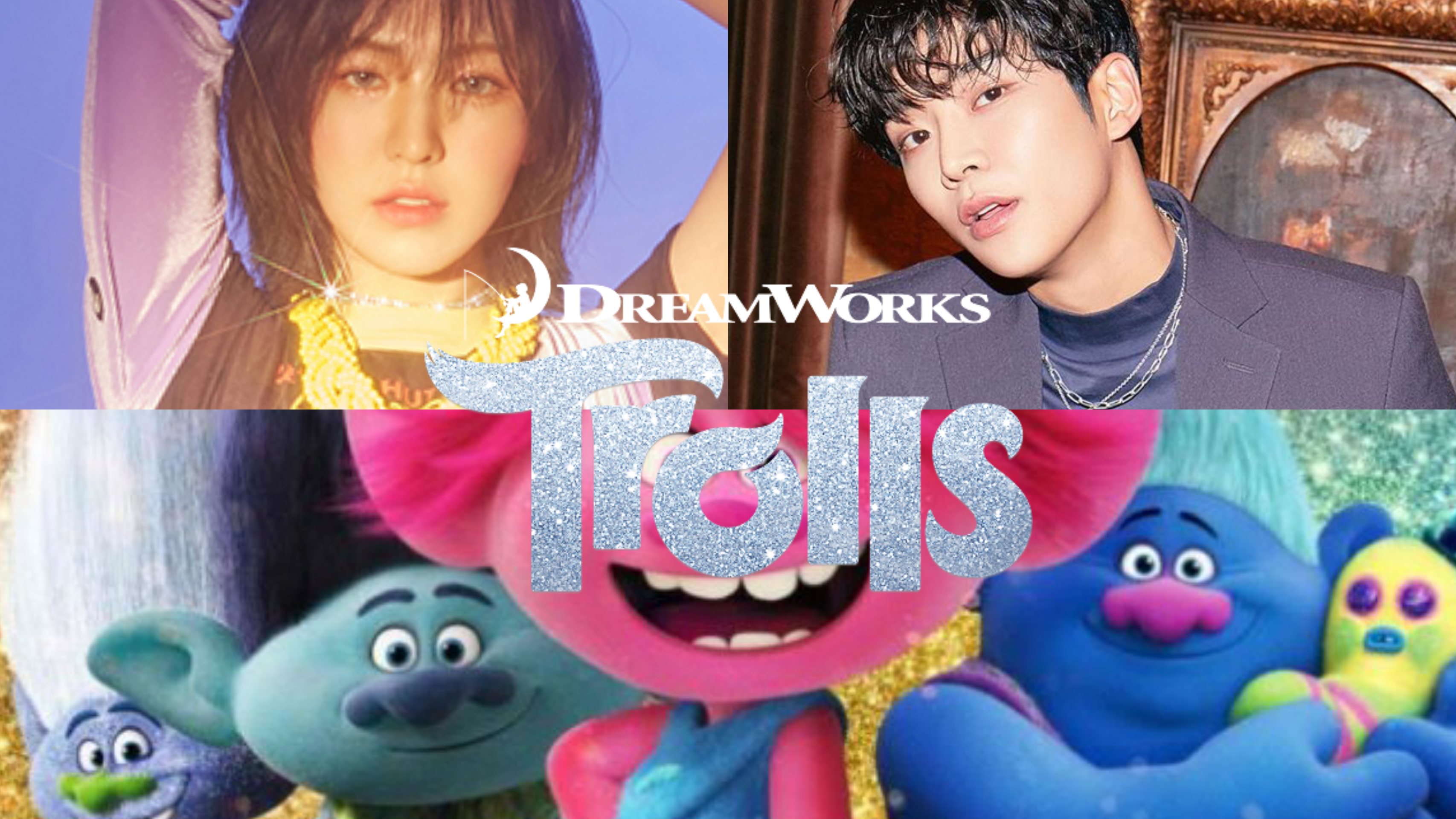 Wendy Rowoon Will Dub The Main Characters Of Trolls World Tour Kr Ver One Seoul